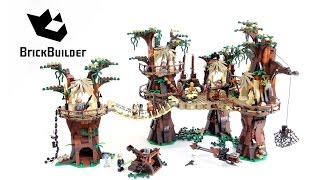 getlinkyoutube.com-Lego Star Wars 10236 Ewok Village - Lego Speed Build