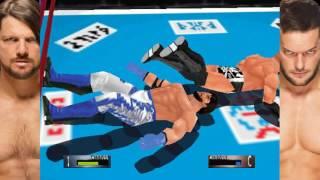 New Japan Mod Matches - AJ Styles vs Finn Balor