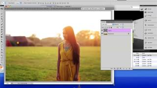 getlinkyoutube.com-GOLDEN HOUR Photo Effect - Photoshop Tutorial