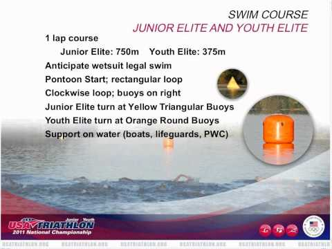 USA Triathlon Junior and Youth National Championship pre-race briefing