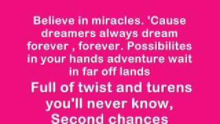 ♥Magic Mirror♥ Tiffany Thornton lyrics .wmv