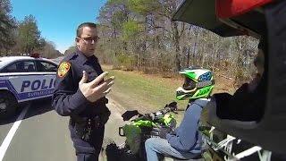 getlinkyoutube.com-★Amazing POLICE VS MOTO!! Crazy Cops Chases Motorcycle - Best Compilation 2016