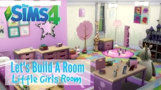 getlinkyoutube.com-The Sims 4 : Let's Build A Room - Little Girls Room