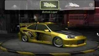 Need For Speed: Underground 2 - Honda Civic Tuning
