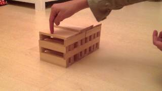 getlinkyoutube.com-How to build a House with Kapla Blocks