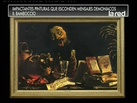 SALFATE   Pinturas Famosas con Mensajes Satánicos