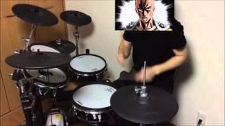 getlinkyoutube.com-【One Punch Man】【OP】【drum cover】【叩いてみた】