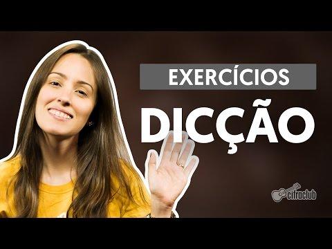 Exercício para melhorar a dicção na hora de cantar (aula de canto)
