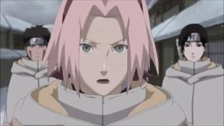 Sakura and Naruto talking about their feeling.