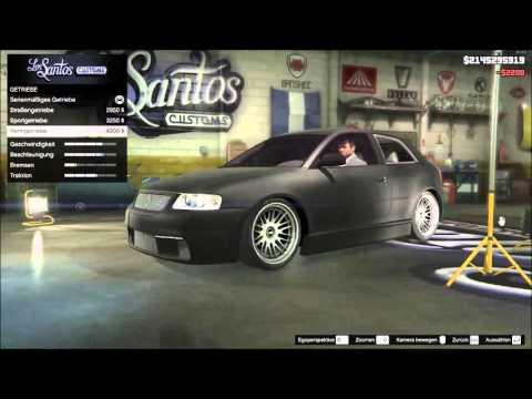 GTA5 MODS | AUDI S3 8L