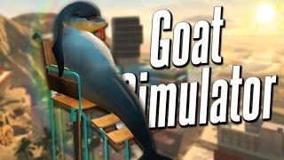 getlinkyoutube.com-WHEELCHAIR DOLPHIN | Goat Simulator PayDay DLC #1