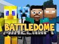Minecraft: BATTLEDOME! Part 1 w/ NoahCraftFTW, TazReese & Choco!