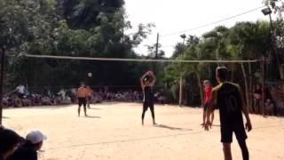 getlinkyoutube.com-Bóng chuyền 3&3