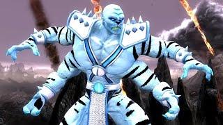 getlinkyoutube.com-Mortal Kombat Komplete Edition - Kintaro Snow Leopard Costume Mod Arcade Ladder Gameplay Playthrough