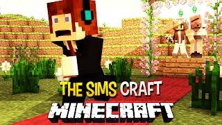 getlinkyoutube.com-The Sims Craft Ep.16 - Casamento Obrigado !! - Minecraft