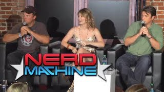 getlinkyoutube.com-Conversation with Nathan Fillion, Adam Baldwin, & Jewel Staite - Nerd HQ (2011) HD - Zachary Levi