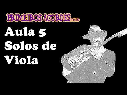 Jeito Caipira - Solos de Viola - aula 5