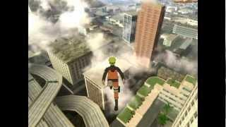getlinkyoutube.com-GTA SA - Naruto Jump v2 +New WallRun (Walk on wall) New mod 2013