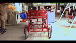 getlinkyoutube.com-Hora Cero - Bicicleta de cuatro ruedas