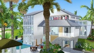 getlinkyoutube.com-The Sims 3 House Building -Modern Tides 163-  Competition entry TheSimsCentralHD