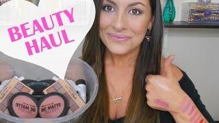 getlinkyoutube.com-HUGE Makeup Haul║Drugstore, Colour Pop, City Color Cosmetics + More!