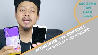 [ADU] Xiaomi Redmi Note 5 vs Asus Zenfone 5 - Battle of 636 Powered - Indonesia