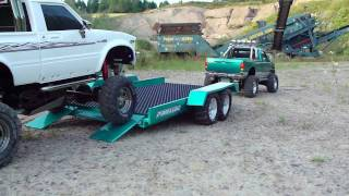 getlinkyoutube.com-HIGH LIFT F350 & HILUX TRAILER EXPEDITION DUAL CAM