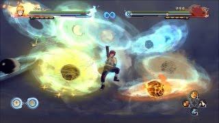 getlinkyoutube.com-GAARA OF THE 100 JUTSUS Moveset Mod | Naruto Storm 4 Mods