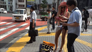 getlinkyoutube.com-Tokyo Red Light District, Day and Night