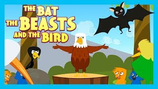 THE BAT THE BEAST AND THE BIRD - BEDTIME STORY FOR KIDS || KIDS HUT STORIES - ANIMATED STORY