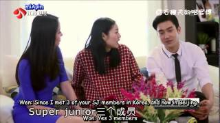 getlinkyoutube.com-[ENG SUB] Siwon & Liuwen We are in love EP 4