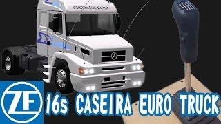 """getlinkyoutube.com-Câmbio caseiro 16 marchas,  ZF16s Simulador Euro Truck. Troca no""""tapa"""""""