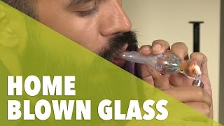 getlinkyoutube.com-Home Blown Glass // 420 Science Club