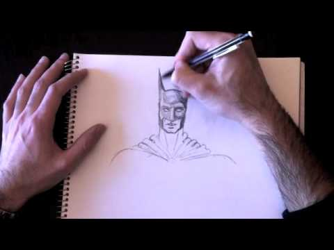 Drawing Batman with Paolo Morrone