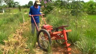 getlinkyoutube.com-เทคนิคเกษตรดอทคอม รถขุดหลุม หรือ เครื่องขุดหลุมปลูกต้นไม้
