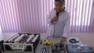 getlinkyoutube.com-Amplificador DAUPHIN Jc 10,000 4 Canales