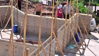 getlinkyoutube.com-Несъемная опалубка для монолитного малоэтажного строительства