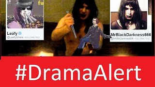 getlinkyoutube.com-Leafy vs MrBlackDarkness666 #DramaAlert Death Magic Spells vs Trolls