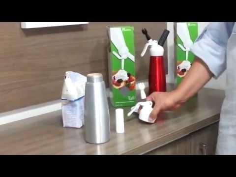 Como usar sifão para chantilly
