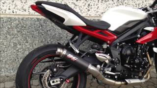 getlinkyoutube.com-TRIUMPH STREET TRIPLE 675 2013 - SC-PROJECT GP M2 EXHAUST
