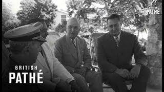 Truman Tour Of Caribbean ( Puerto Rico - 1948)