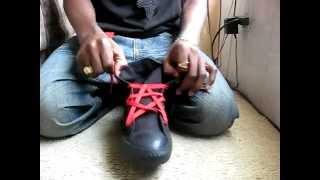 getlinkyoutube.com-Modacalle Como armar sus zapatillas supra con una forme de estrella de 5 puntas.mp4