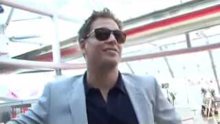 getlinkyoutube.com-Cote de Pablo and Michael Weatherly, moments at Montecarlo TV festival 2010