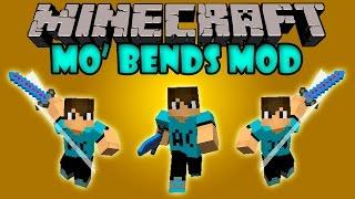getlinkyoutube.com-MO' BENDS MOD - Animaciones Realistas! - Minecraft mod 1.7.2 y 1.7.10 Review ESPAÑOL