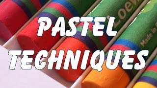 getlinkyoutube.com-pastel drawing painting techniques
