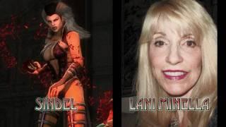 getlinkyoutube.com-Mortal Kombat 9 (2011) - Characters and Voice Actors