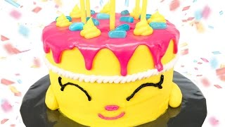 "getlinkyoutube.com-Shopkins Cake: How to make Shopkins ""Wishes"" Birthday Cake from Cookies Cupcakes and Cardio"