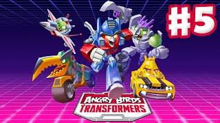 Angry Birds Transformers - Gameplay Walkthrough Part 5 - Lockdown Rescue! (iOS)