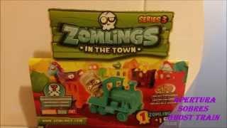 getlinkyoutube.com-Apertura Sobres Ghost Train Zomlings Serie 3 CromoCole
