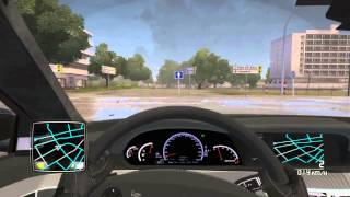 getlinkyoutube.com-TDU2 - Mercedes-Benz S65 AMG 2012 - Logitech G27 - Cruise[HD]